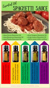 Essential Oil Spaghetti Sauce