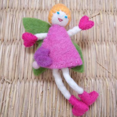 Karma Gear - Felt Fairy Handmade and Fairly Traded from Nepal with Love