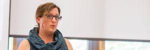 Foto von Valentim Bachem auf den Drupal Business and Community Days. Hier bei meinem Vortrag über CSR.