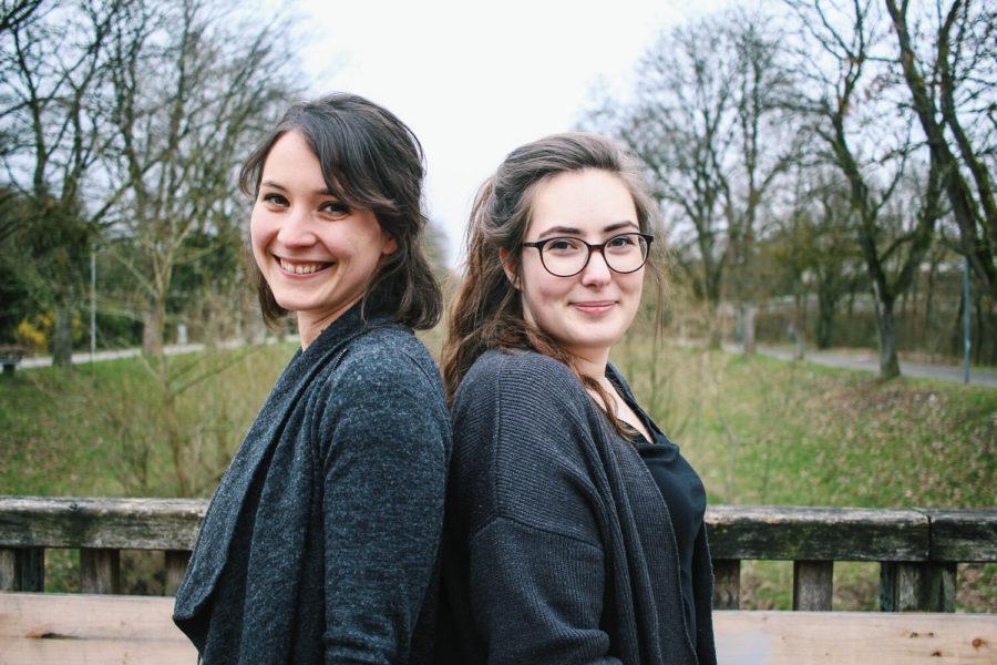 """Perspektiven auf soziales Engagement, heute: Luisa und Katrin von """"erzähl davon"""""""