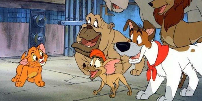 Disney Oliver and Company in New York City