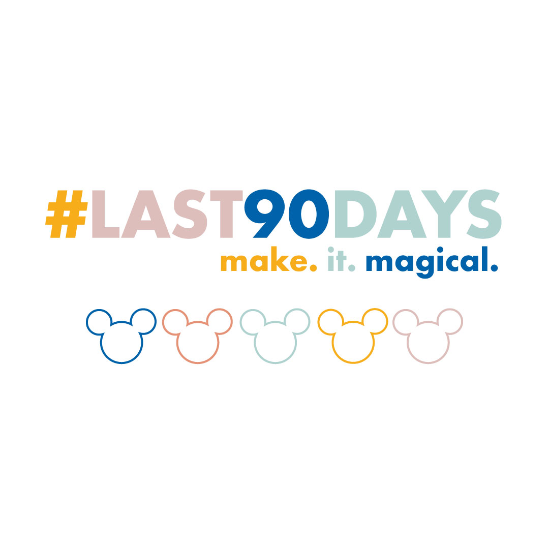 Take part in the #Last90Days challenge and add a little bit of magic! Free download of a Disney inspired habit tracker included!