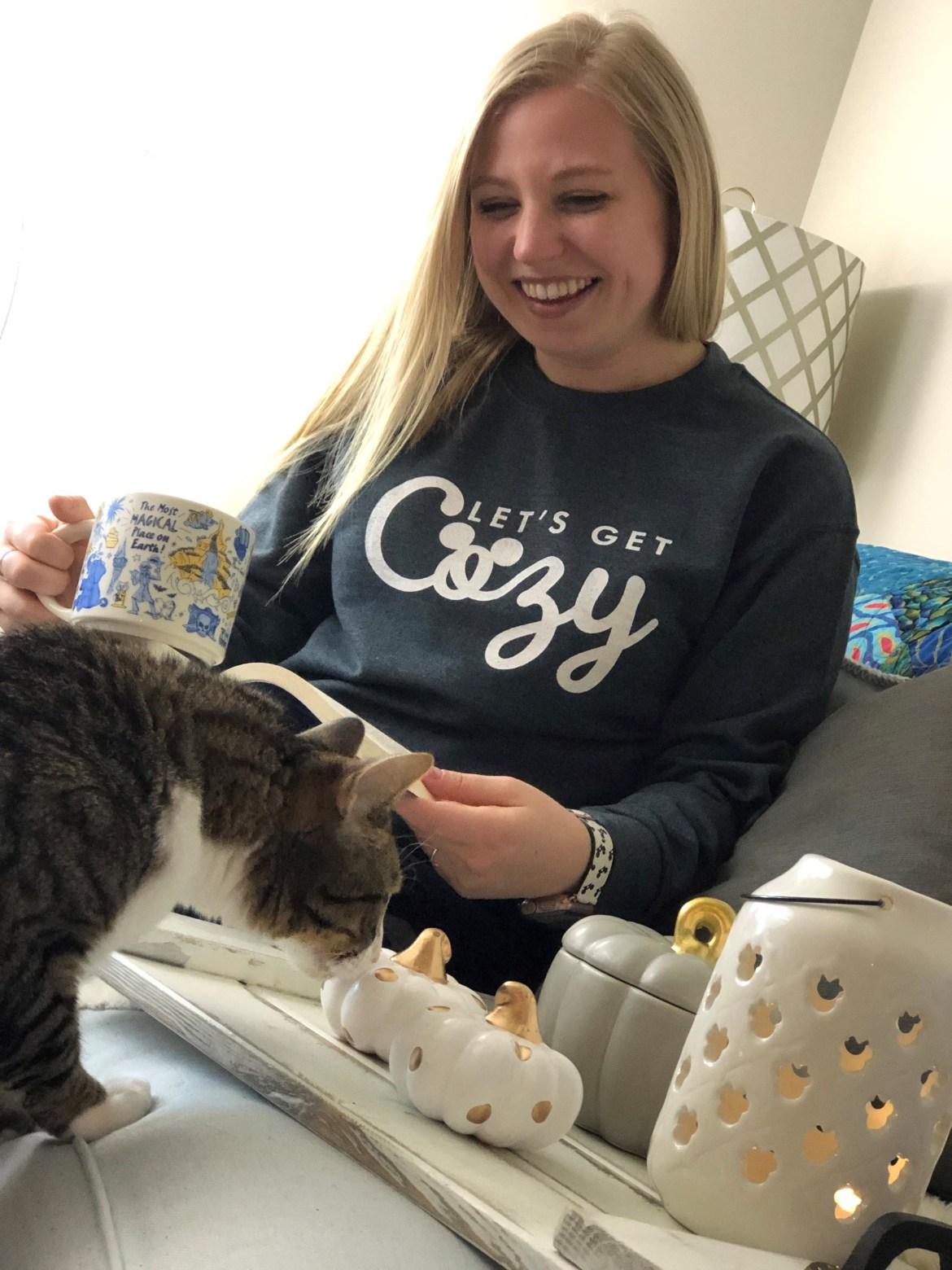 Cozy Disney Sweatshirt