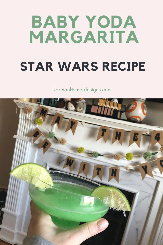 How to make Baby Yoda Margaritas