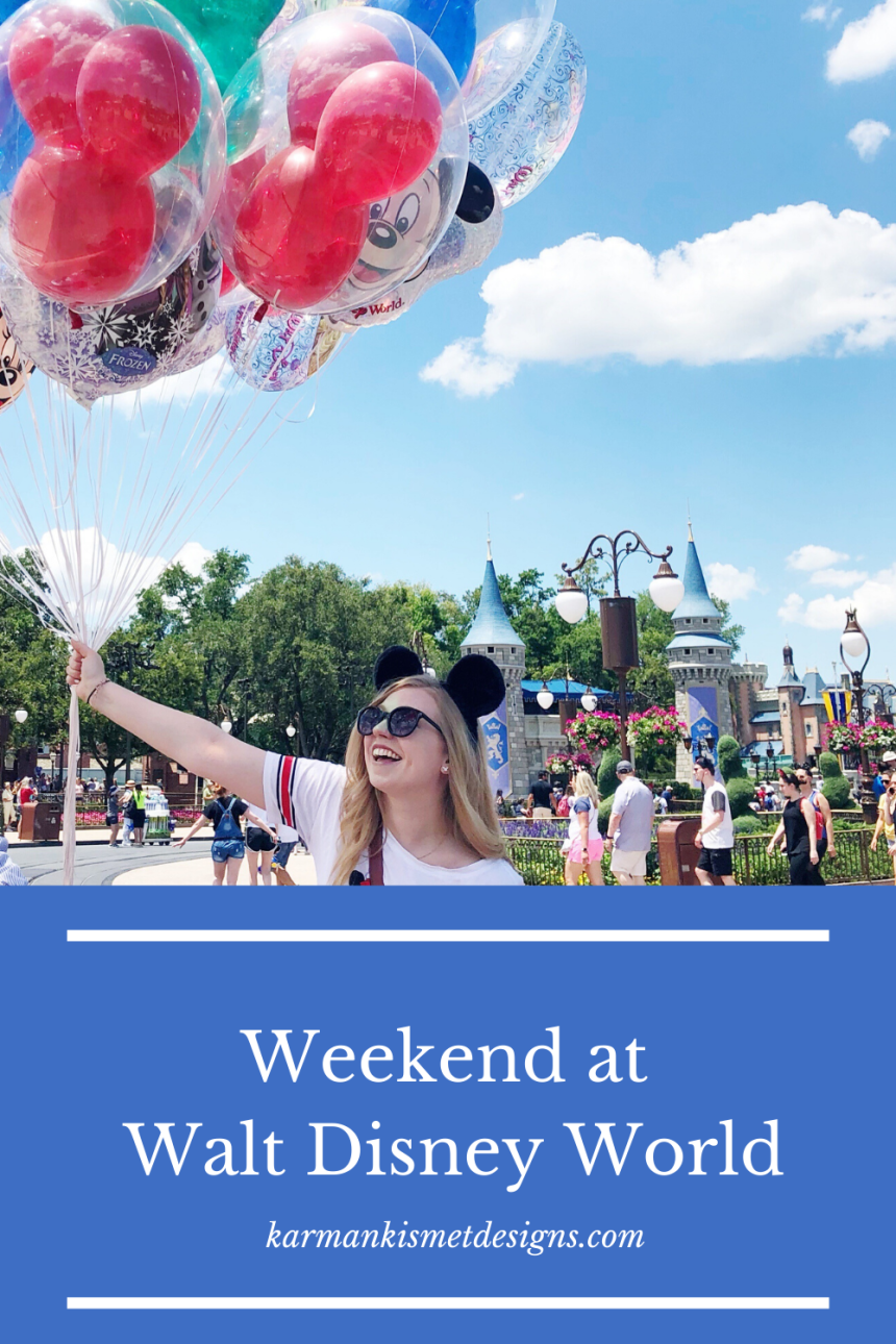 How to spend a weekend at Walt Disney World
