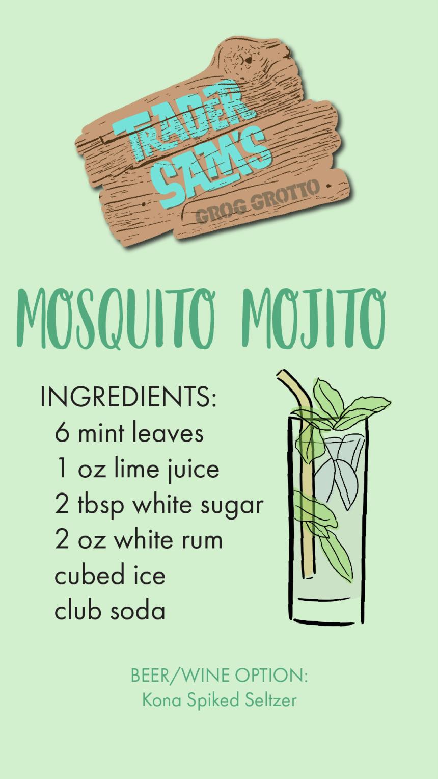 Disney Trader Sams Mosquito Mojito Recipe