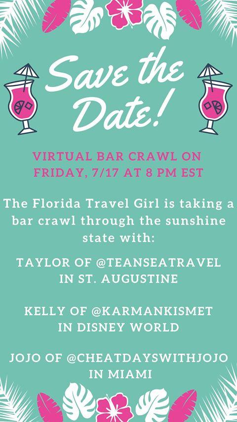 Virtual Florida Bar Crawl