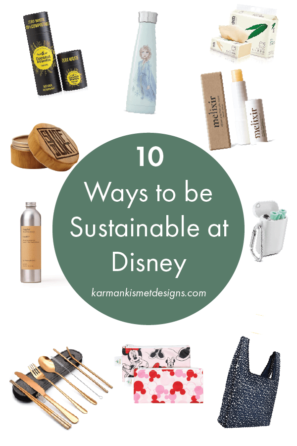10 products to be more sustainable at Disney