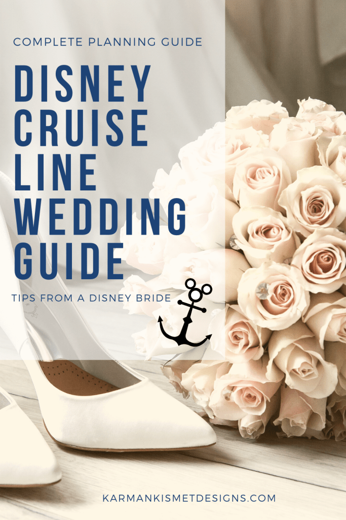 Planning guide for a Disney Cruise Wedding