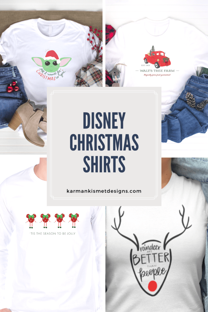 Disney Christmas shirts
