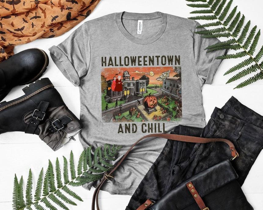 Halloweentown Disney Channel Shirt