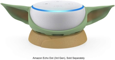 Baby Yoda Echo Dot Holder