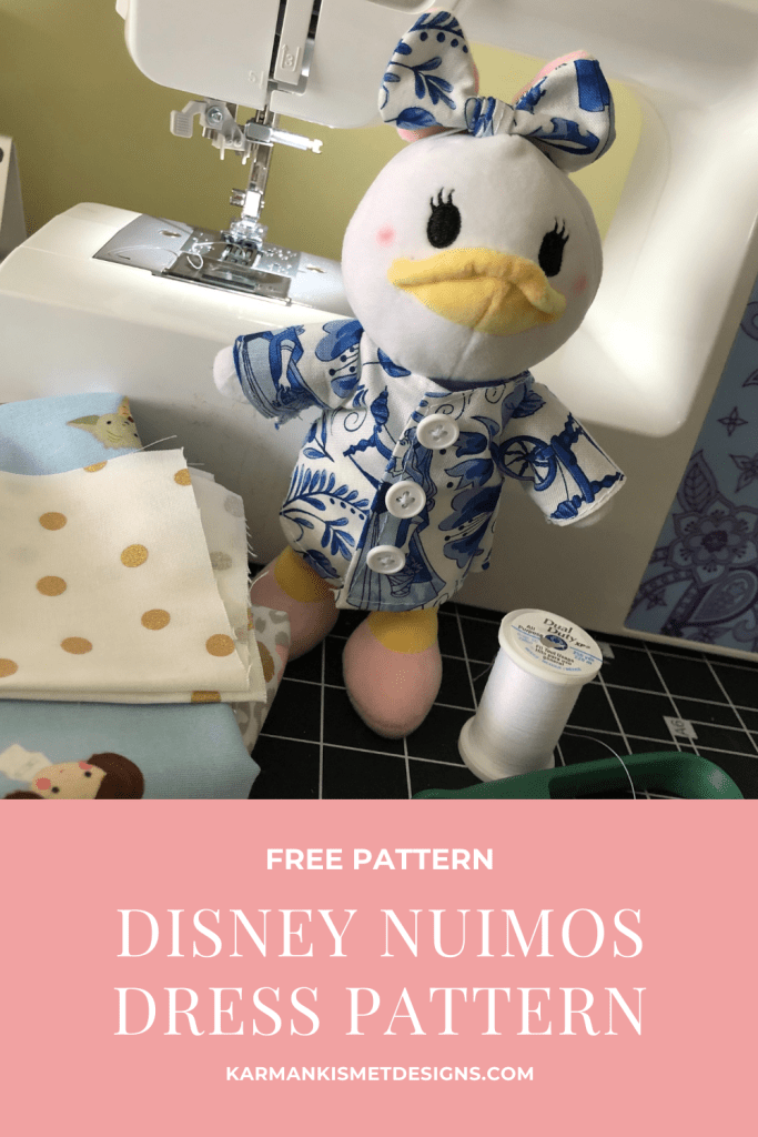 Learn how to make Disney nuiMOs clothing with this free pattern.