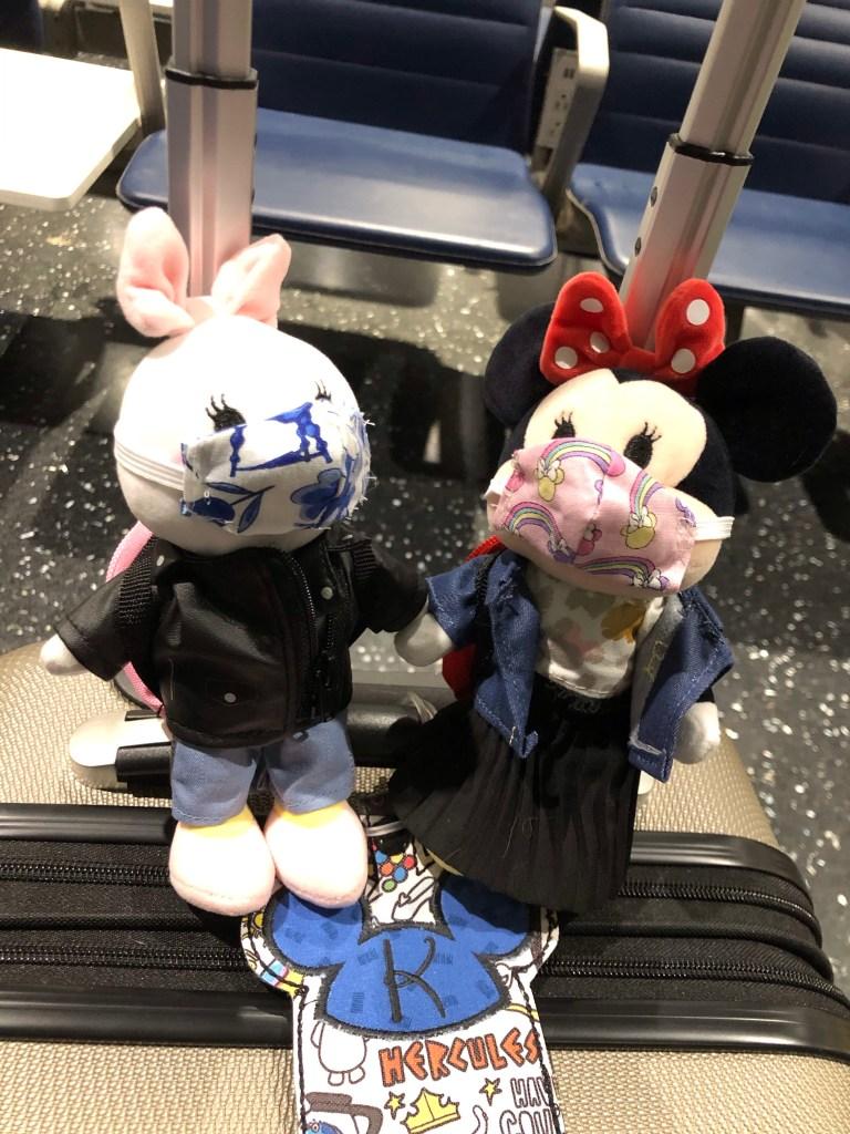 Disney nuiMOs Minnie Mouse and Daisy Duck