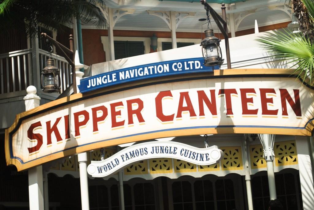 Jungle Navigation Co LTD. Skipper Canteen at Magic Kingdom