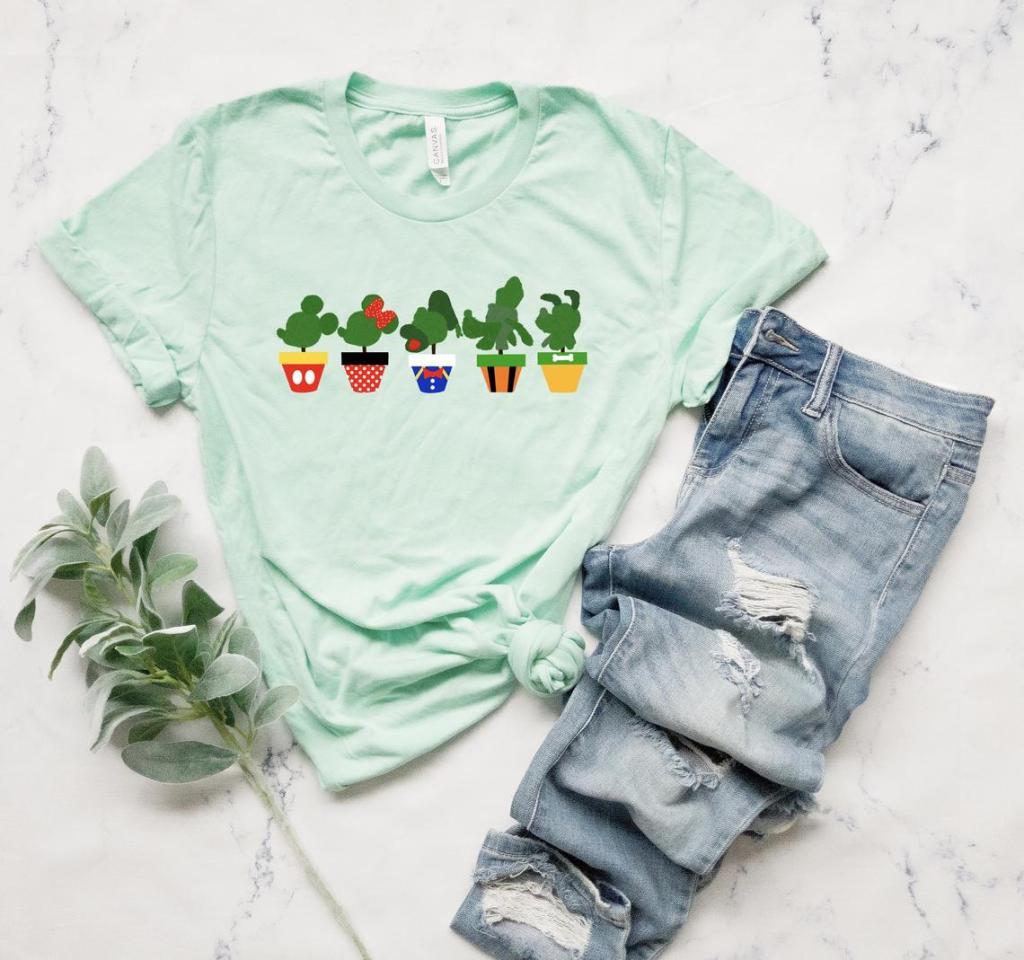 Disney Topiary T-shirt Flower and Garden Festival