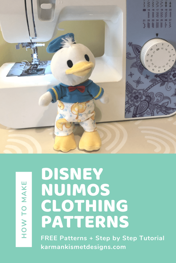 How to make Disney nuiMOs pants plus a Free Pattern