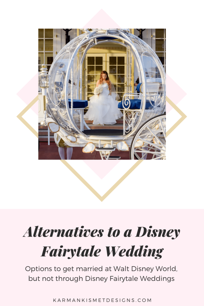 Alternatives to a Disney wedding at Walt Disney World