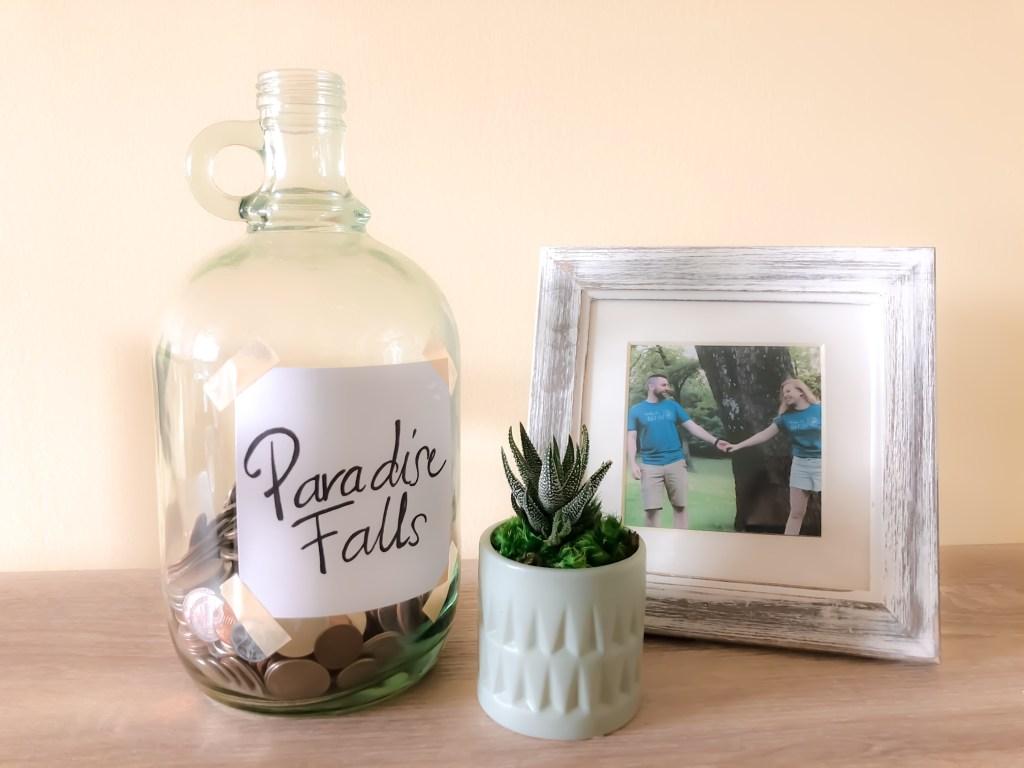 Disney Up Paradise Falls Coin Jar DIY