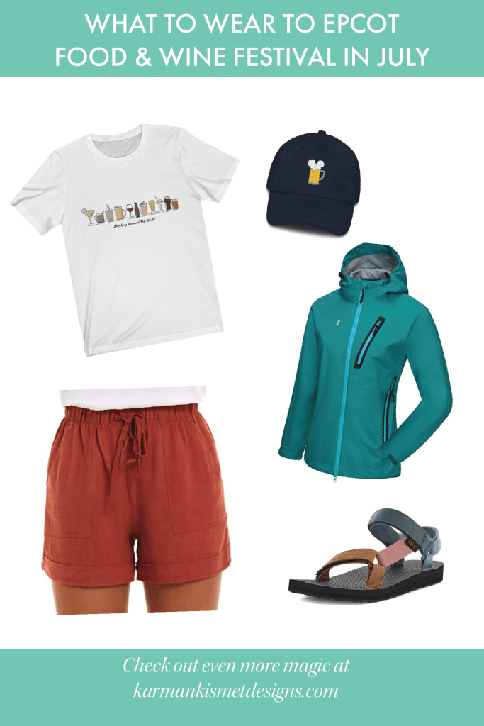 Disney outfit July - Epcot Food and Wine Festival