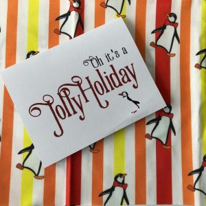 Mary Poppins Christmas Card