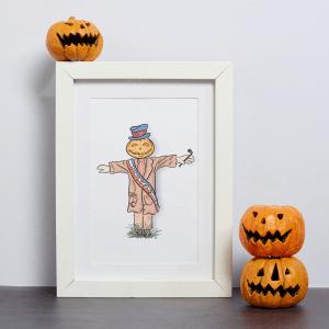 disney scarecrow art
