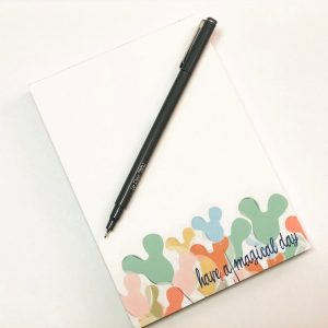 have a magical day notepad