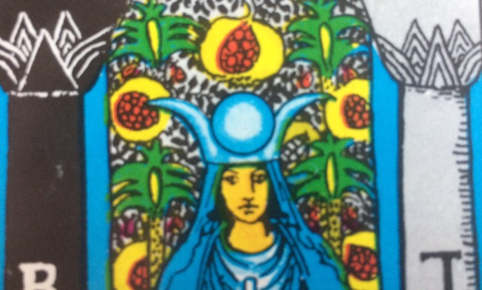 Pmegranates and the High Priestess