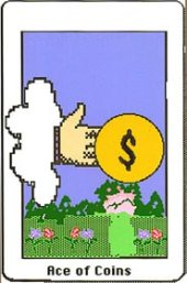 Electronic Republican Tarot Ace of Coins