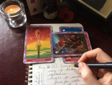 Tarot as a Writing Prompt
