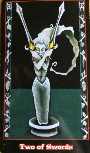 Vampire Tarot - 2 of Swords