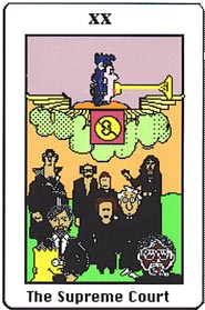 The Elecronic Republican Tarot XX The Supreme court