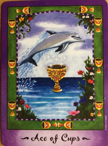 Ace of Cups - Faerie Tarot