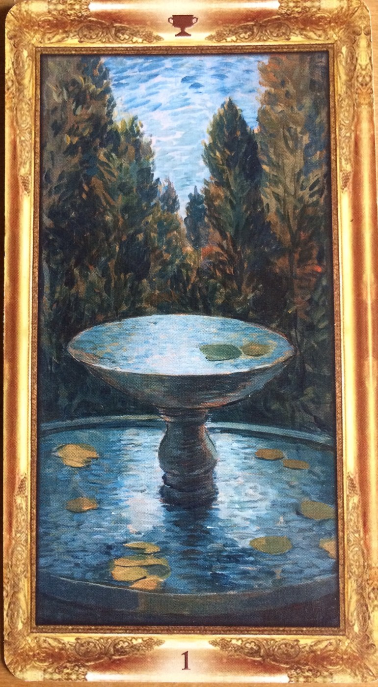 Ace of Cups - Impressionist Tarot