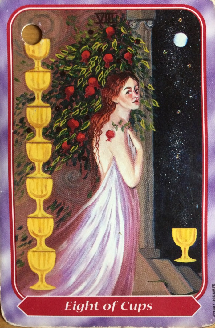 Spiral Tarot 8 of Cups