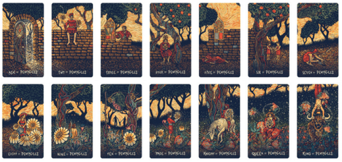 Image result for prisma vision tarot