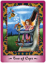 faerie tarot 2 of cups