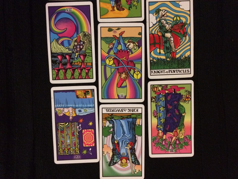 30 Day Tarot Writing Challenge Mentor Spread