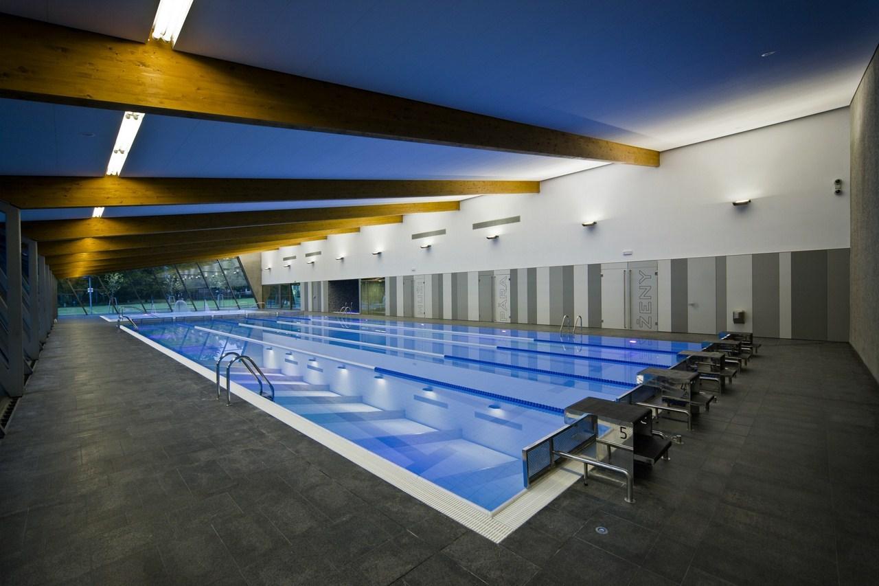 Indoor Swimming Pool In Litomyšl By Architekti DRNH