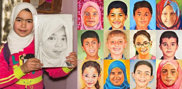 Faces of Joy - Syria