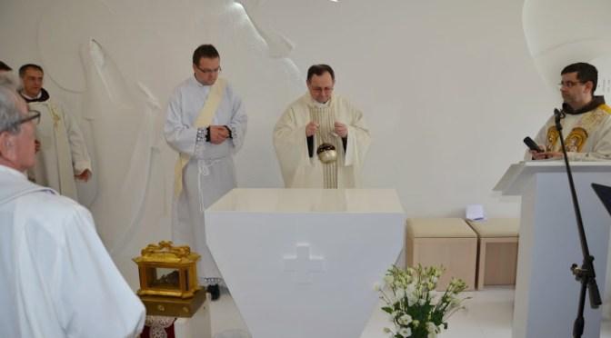"""Moći sv. Terezije od Isusa (Avilske) na """"Karmelu sv. Ilije"""""""