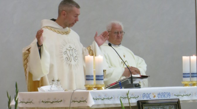 Proslava svetkovine Majke Božje Bistričke u bistričkom Karmelu i mlada misa o. Krešimira Bahmeca