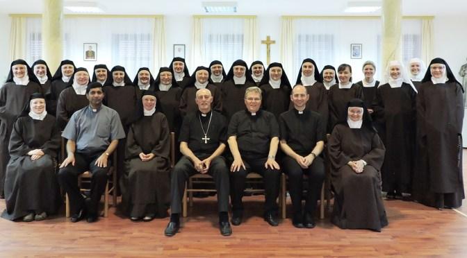 Posjet nuncija Giorgia Lingue Karmelu sv. Josipa
