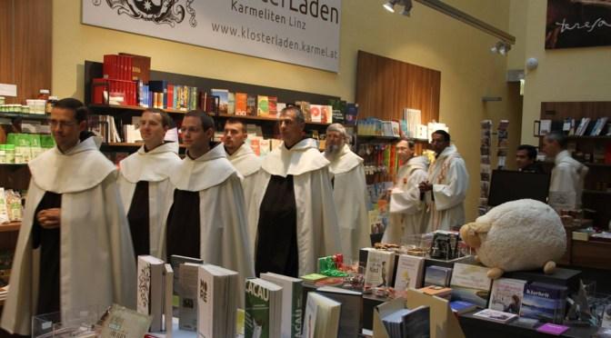 Novaci na svečanom zavjetovanju u Linzu i svećeničkom ređenju u Stift Reinu