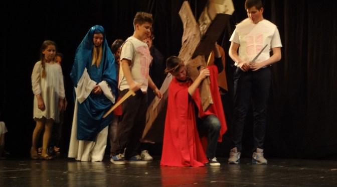 Održana prva uskrsna predstava u Prvoj katoličkoj osnovnoj školi u Gradu Zagrebu