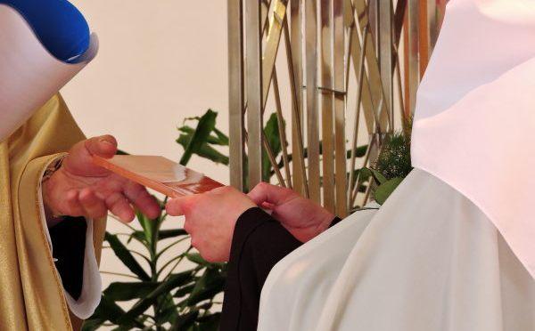 Privremeni zavjeti s. Marije Ane od Božje Providnosti