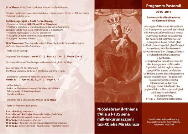 Programm Pastorali 1