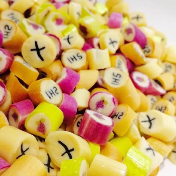 1 kg cukierków na I Komunię Świętą do własnych pudełeczek