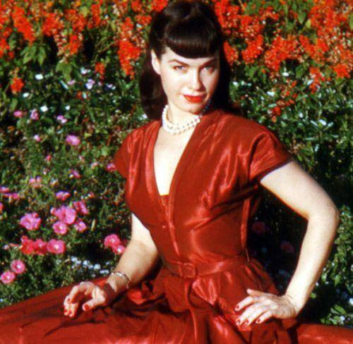 bettie page color # 65