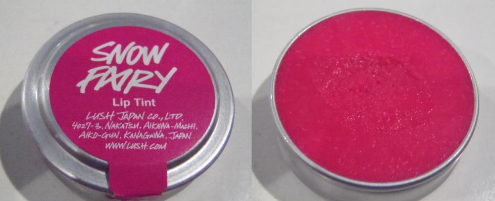REVIEW:  Lush Snow Fairy Lip Tint (1/3)